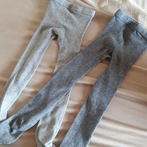 Zara footed tights